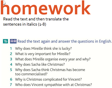 Translation homework help